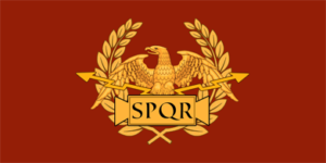flag of the roman republic